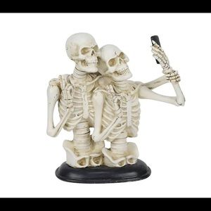 Halloween Skeleton Couple Selfie